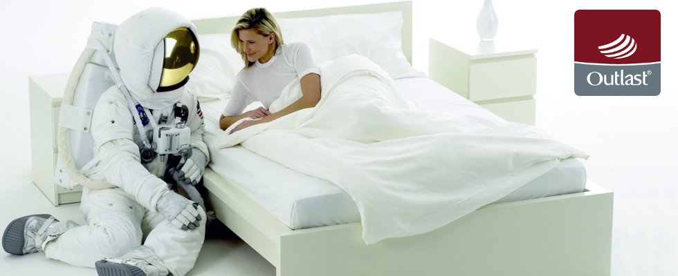 Vuoi finalmente evitare il caldo a letto e dire basta all'eccessiva sudorazione… la risposta è outlast…