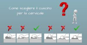 Scegliere il cuscino per la cervicale